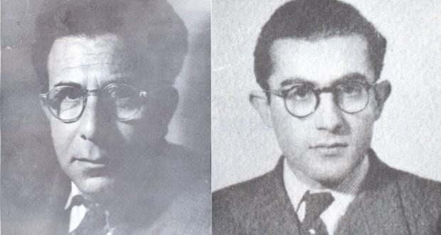 Soldaki: Haygazun Kalustyan Sağdaki: Garbis Cancikyan
