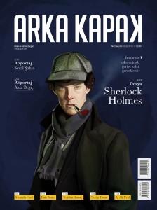 Arka Kapak 28. sayı Sherlock Holmes