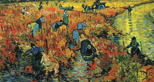 Vincent-Van-Goghun-hayattayken-sadece-The-Red-Vineyard