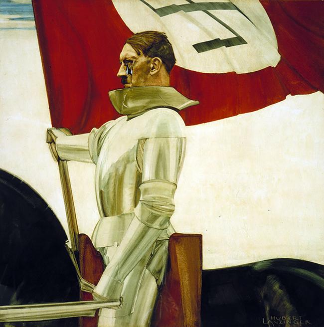 """Hubert Lanzinger, """"Bayrak Taşıyıcı"""": 1933"""